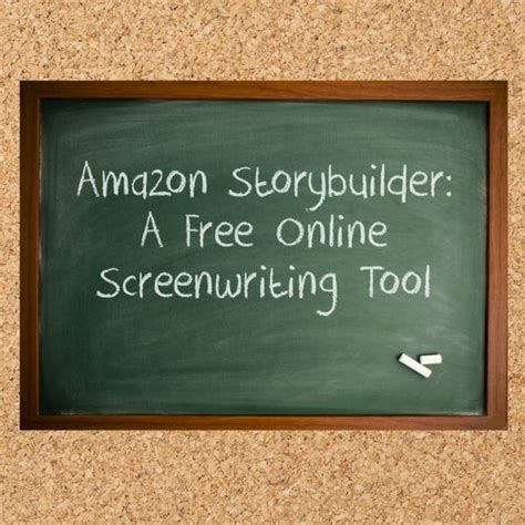 amazon storybuilder amazon storybuilder a free online screenwriting tool