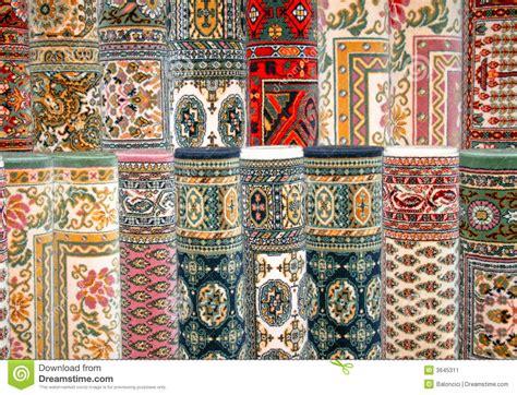 teppiche marrakesch bunte teppiche stockbild bild 3645311