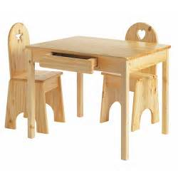 solid children s wooden desk and chair set plans