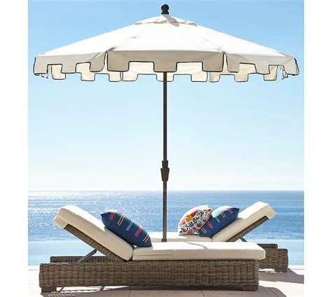 pottery barn patio umbrella pottery barn outdoor furniture sale save 30 on outdoor