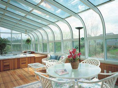 aluminum sunroom  glass roof   future hot tub