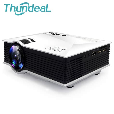 Mini Projector Uc40 unic uc46 newest 1200lumens 2 4g wifi mini projector uc40 upgrade hdmi av usb sd ir portable