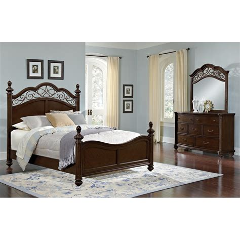 Derbyshire Bedroom 5 Pc King Bedroom Value City Furniture Value City Furniture Bedroom Set