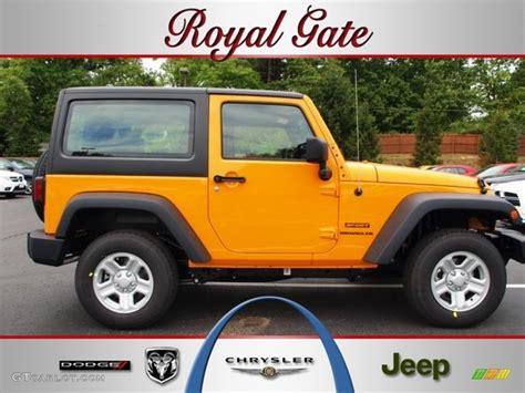 2012 dozer yellow jeep wrangler sport 4x4 68579211 gtcarlot car color galleries