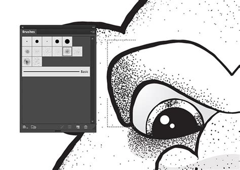 vector shading tutorial 8 free stipple shading brushes for adobe illustrator