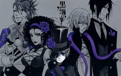 wallpaper black butler hd 好 kuroshitsuji book of circus napisy pl manga