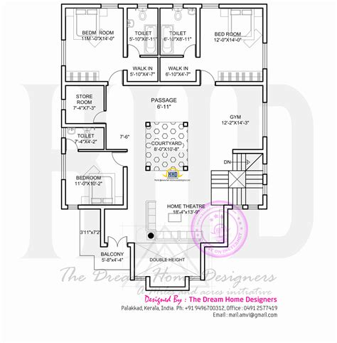 first floor plan modern house with floor plan kerala home design and
