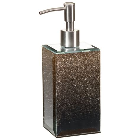 soap dispenser bathroom glitter ombre soap dispenser bathroom accessories b m