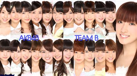 Clearfile Akb48 Team B 2015 akb48 team b may 2013 updated by jm511 on deviantart