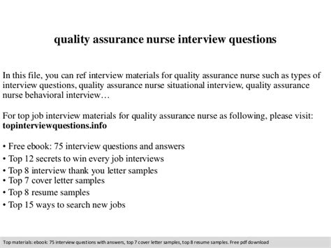 thank you letter after quality assurance quality assurance questions