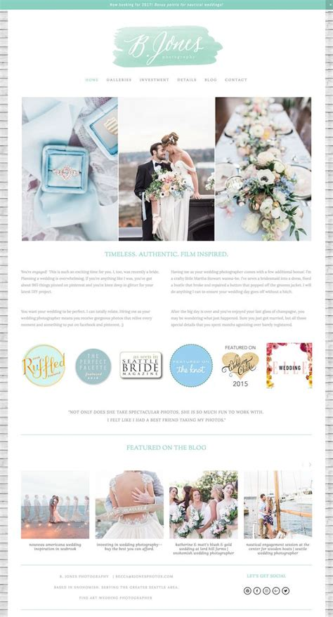 154 Best Web Design Inspiration Images On Pinterest Website Designs Design Websites And Feminine Squarespace Templates