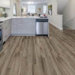 Trafficmaster Rustic Weathered Oak Plank Weathered Stock Chestnut Resilient Vinyl Plank Flooring