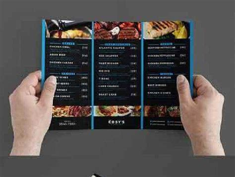 1702532 Trifold Restaurant Menu Template Free Psd Download Free Photoshop Action Lightroom Tri Fold Menu Template Photoshop