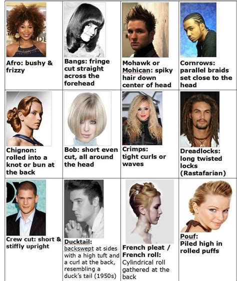 hairstyles names in english 165 best images about newcomers on pinterest english
