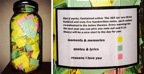 Letter Jar Boyfriend Puts 365 Notes In A Jar For His Boredombash