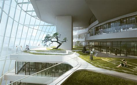 home design center parnell mad architects reveals plans for xinhee design center in china
