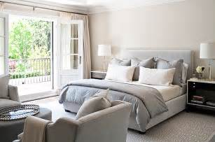 Gray And Beige Bedroom by Jennifer Worts Design Bedrooms Sand Beige Walls