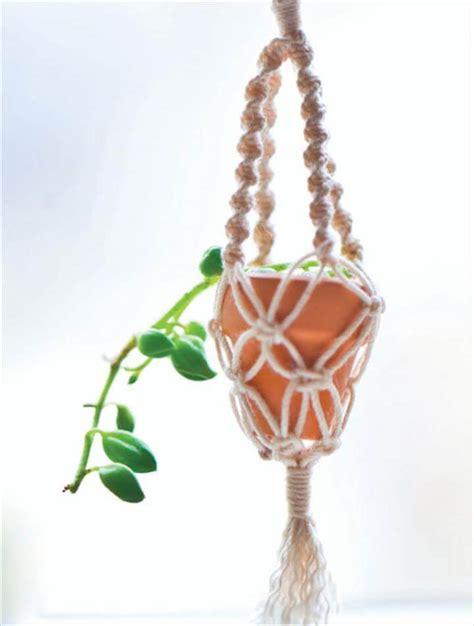 hanging plant diy 25 diy plant hangers with full tutorials diy crafts