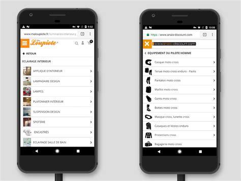 web version on mobile nouvelle version mobile design et compl 232 te pour votre site