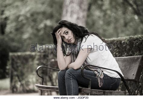 bench latin feeling lonely stock photos feeling lonely stock images alamy