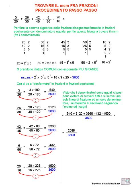 tavole numeriche scomposizione in fattori primi scomposizioni in fattori primi mcm mcd aiutodislessia net