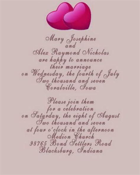Words For Wedding Invitation Wedding Pictures Wedding Photos Pictures Of Wedding