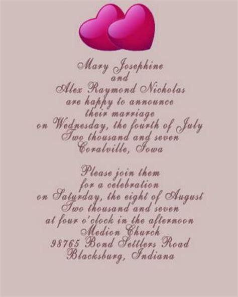 Formal wedding invitations wedding plan ideas