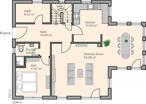 1 schlafzimmer haus plan 25 best ideas about grundriss einfamilienhaus on
