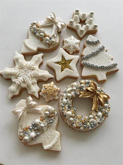 christmas decorating ideas cookie outdoor tree white christmas cookies by lorena rodr 237 guez cookie