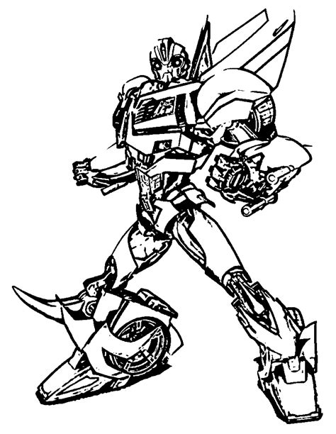 transformers coloring pages transformers bumblebee cartoon