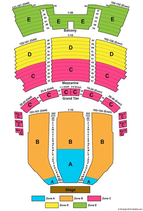 capitol theatre seating capitol theatre seating chart