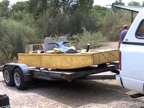 wooden jon boat building a wooden jet jon boat part 5 youtube