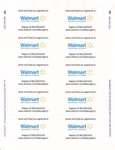 since walmart now requires you to pay for registry inserts