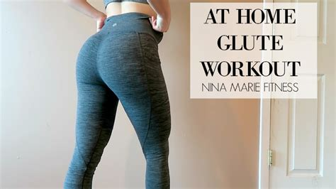 at home glute workout leg and glute workout for at home