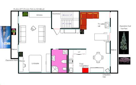 small house plan with loft studio design gallery