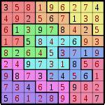 La soluci 243 n del puzzle anterior son los n 250 meros en rojo