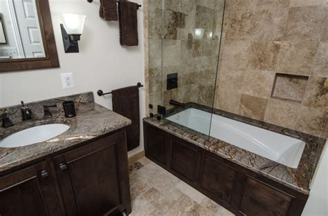 Brown Marble Bathroom Ideas Bath Modlich Stoneworks