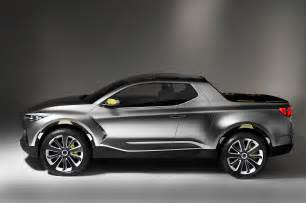 hyundai santa crossover truck concept profile photo 11