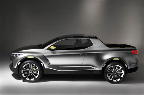 hyundai crossover 2016 hyundai santa cruz crossover truck concept profile photo 11