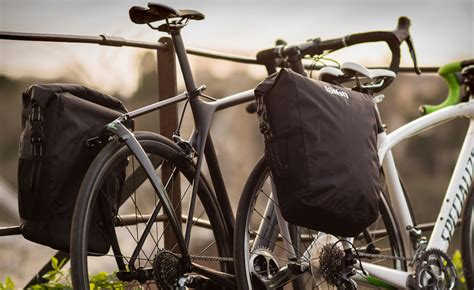 Bicycle Touring Racks by Carbon Tailfin Rack Turn Your Road Bike Into A