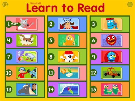 barrington learns to read books starfall learn to read 15 apps to get your preschooler