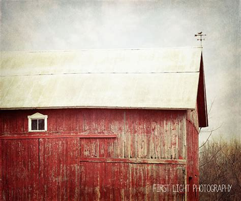 red barn home decor barn print red barn photography farmhouse decor rustic home