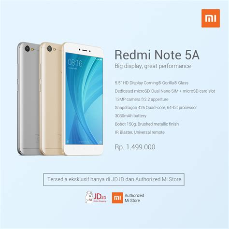 New Xiaomi Redmi Note 5a Note5a Not 5a Not5a Xiomi Ume Flip Cover Leat xiaomi redmi note 5a lands in indonesia sells for 111