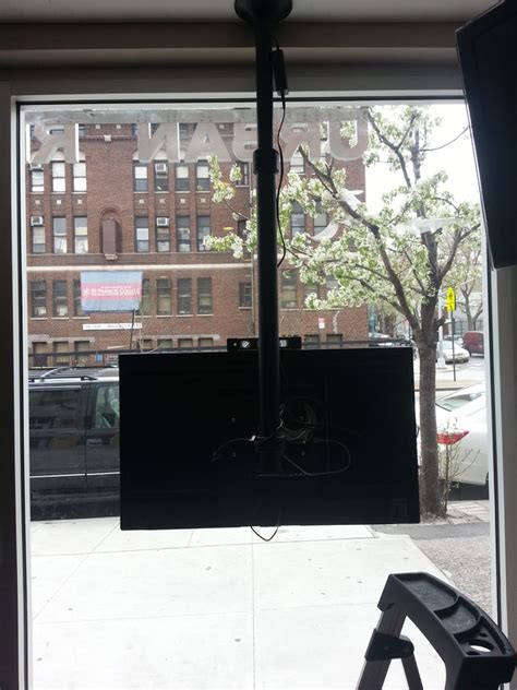 tv window mount window display tv mount yelp