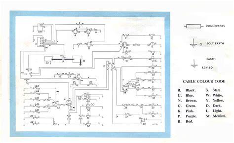 triumph herald wiring diagram 29 wiring diagram images