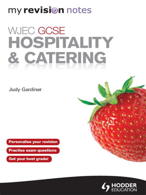 my revision notes wjec wjec gcse hospitality and catering ebook my revision notes by judy gardiner 2012
