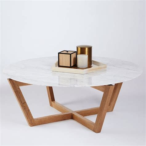 marble living room tables 17 best ideas about round coffee tables on pinterest