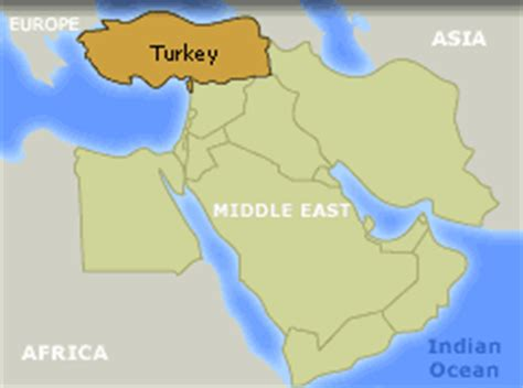 middle east map turkey wide angle bank thirteen ed
