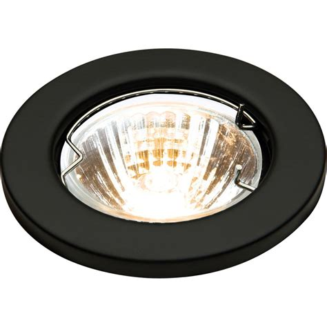 Recessed Light Chandelier Low Voltage Mr16 Fixed Black Downlight Fitting