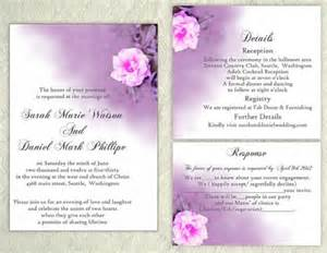 free editable wedding invitation templates diy wedding invitation template set editable word file